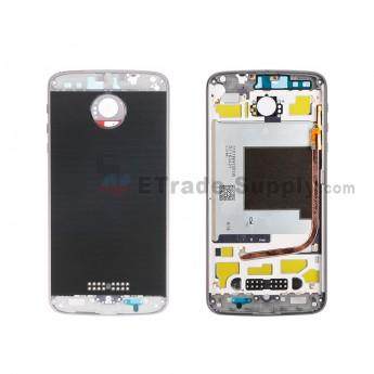 For Motorola Moto Z Force/Z XT1650 Rear Housing Replacement - Gray - Grade S+ (3)