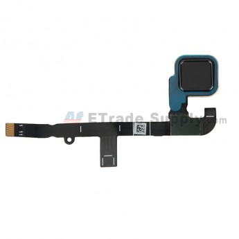 For Motorola Moto Z Play Home Button Flex Cable Ribbon Replacement - Black - Grade S+ (0)