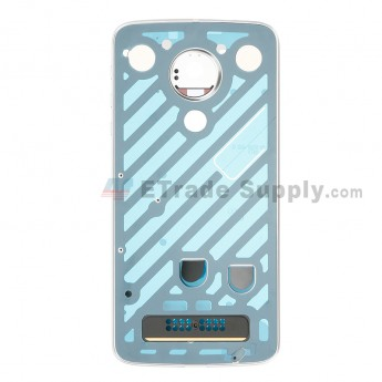 For Motorola Moto Z Play XT1635-02 Rear Housing with Adhesive Replacement - Grade S+ (0)