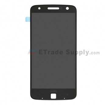 For Motorola Moto Z Power LCD Screen and Digitizer Assembly Replacement - Black - Grade S+ (0)