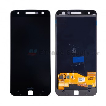 For Motorola Moto Z XT1650 LCD Screen and Digitizer Assembly Replacement - Black - With Logo - Grade S+ (3)