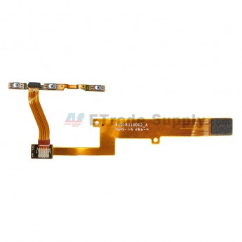 For Motorola Nexus 6 LCD Flex with Power and Volume Button Flex Cable Ribbon Replacement - Grade S+ (0)