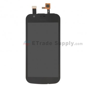 For Nokia 1 LCD Screen and Digitizer Assembly Replacement - Black - With Logo - Grade S+ (0)