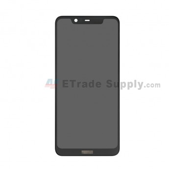 For Nokia 5.1 Plus (Nokia X5) LCD Screen and Digitizer Assembly Replacement - Black - With Logo - Grade S+ (0)