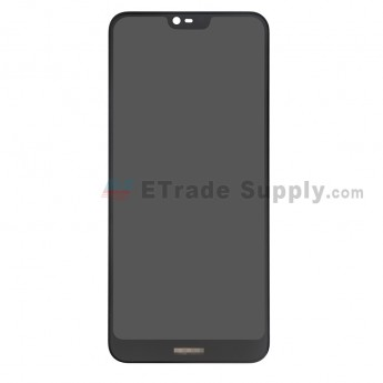 For Nokia 7.1 LCD Screen and Digitizer Assembly Replacement - Black - With Logo - Grade S+ (0)