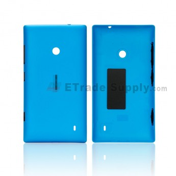 For Nokia Lumia 520 Battery Door Replacement - Blue - Grade S+ (0)