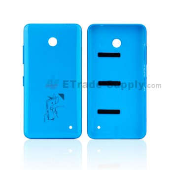 For Nokia Lumia 635 Battery Door Replacement - Blue - With NK Logo - Grade S+ (0)