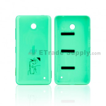 For Nokia Lumia 635 Battery Door Replacement - Green - With NK Logo - Grade S+ (0)