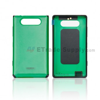 For Nokia Lumia 820 Battery Door Replacement - Green - Grade S+ (0)