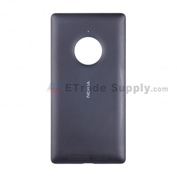 For Nokia Lumia 830 Battery Door Replacement - Black - With Nokia Logo - Grade S+ (6)