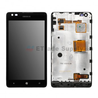 For Nokia Lumia 900 LCD Screen and Digitizer Assembly with Front Housing Replacement ,Without Carrier Logo - Grade S+ (2)