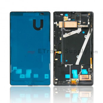 For Nokia Lumia 930 Front Housing Replacement - Black - Grade S+ (0)