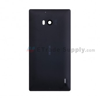 For Nokia Lumia 930 Rear Housing Replacement - Black - With Logo - Grade S+ (0)