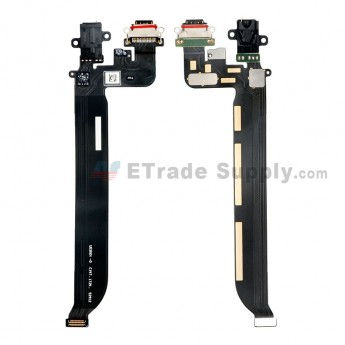 For OnePlus 5 Charging Port Flex Cable Ribbon Replacement - Grade S+ (0)
