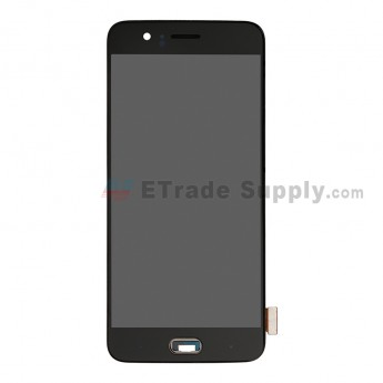 For OnePlus 5 LCD Screen and Digitizer Assembly With Front Housing Replacement - Black - Without Logo - Grade S+ (7)