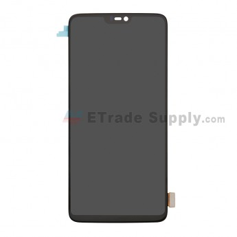 For OnePlus 6 LCD Screen and Digitizer Assembly Replacement - Black - Without Logo - Grade S+ (0)
