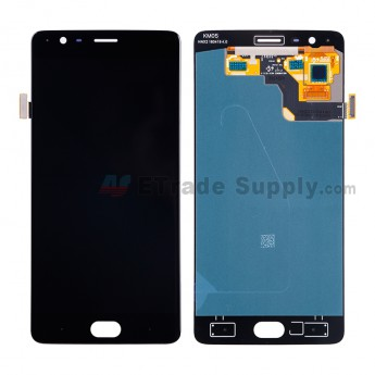 For OnePlus Three LCD Screen and Digitizer Assembly Replacement (A3003 Version) - Black - Without Any Logo - Grade S+ (5)