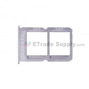 For OnePlus Three SIM Card Tray Replacement (A3003 Version) - White - Grade S+ (1)