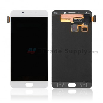 For Oppo F1 Plus LCD Screen and Digitizer Assembly Replacement - White - Without Logo - Grade S+ (0)