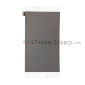 For Oppo R9 Plus LCD Screen and Digitizer Assembly Replacement - White - Without Any Logo - Grade S+ (0)