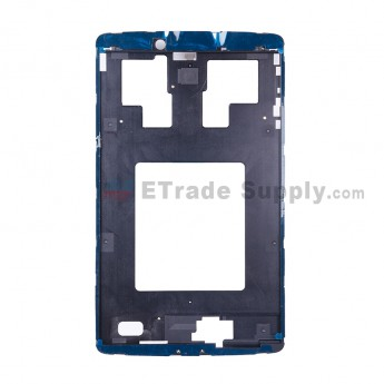 For Reclaimed LG G Pad 8.0 V480 Front Housing Replacement - Black - Grade S+ (0)
