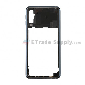 For SM Galaxy A7 (2018) SM-A750F Rear Housing Replacement -Black- Grade S+ (0)