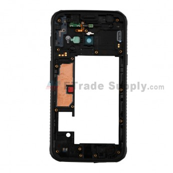 For SM Galaxy G390F Rear Housing Replacement -Black- Grade S+ (0)