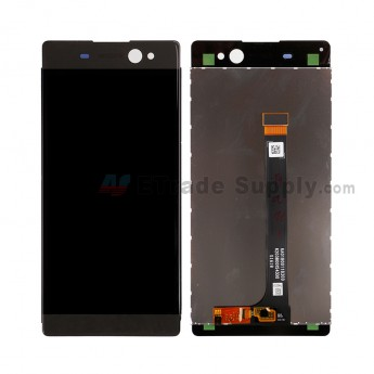 For SN Xperia C6 Ultra LCD Screen and Digitizer Assembly Replacement - Black - SN Logo - Grade S+ (0)