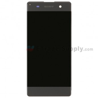 For SN Xperia XA LCD Screen and Digitizer Assembly Replacement - Black - SN Logo - Grade S+ (0)