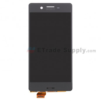 For SN Xperia X LCD Screen and Digitizer Assembly Replacement - Black - SN Logo - Grade S+ (1)