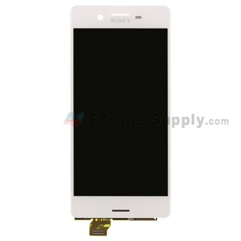 For SN Xperia X LCD Screen and Digitizer Assembly Replacement - White - SN Logo - Grade S+ (0)