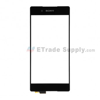 For SN Xperia Z3+ Digitizer Touch Screen Replacement - Black - With SN Logo - Grade S+ (0)