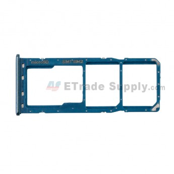 For Samsung Galaxy A30/A305 SIM Card Tray Replacement - Blue - Grade S+ (0)