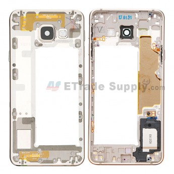 For Samsung Galaxy A3 2016 SM-A310F Rear Housing Replacement - Gold - Grade S+ (0)