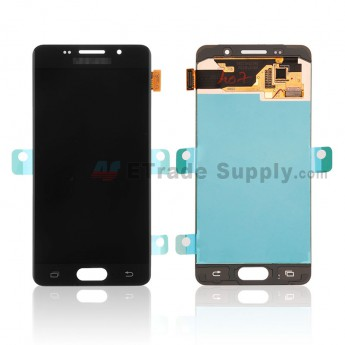 For Samsung Galaxy A3 (2016) SM-A310 LCD Screen and Digitizer Assembly Replacement - Black - With Logo - Grade S+ (0)