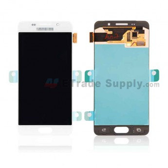 For Samsung Galaxy A3 (2016) SM-A310 LCD Screen and Digitizer Assembly Replacement - White - With Logo - Grade S+ (0)