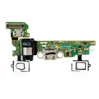 For Samsung Galaxy A3 SM-A300F Charging Port Flex Cable Ribbon with Earphone Jack Replacement - Grade S+ (6)