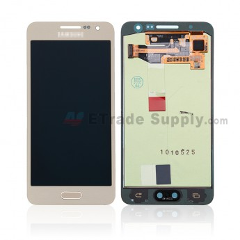 For Samsung Galaxy A3 SM-A300 LCD Screen and Digitizer Assembly Replacement - Gold - With Logo - Grade S+ (0)