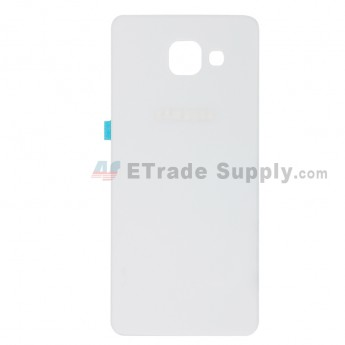For Samsung Galaxy A5 2016 SM-A510F Battery Door Replacement - White - With Logo - Grade S+ (0)