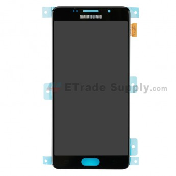 For Samsung Galaxy A5 2016 SM-A510F LCD Screen and Digitizer Assembly Replacement - Black - With Logo - Grade S+ (0)