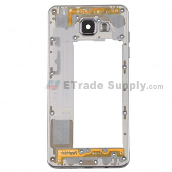 For Samsung Galaxy A5 2016 SM-A510F Rear Housing Replacement - Black - Grade S+ (0)