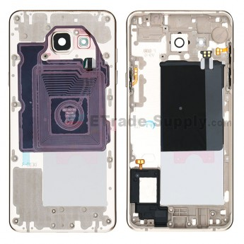 For Samsung Galaxy A5 2016 SM-A510F Rear Housing Replacement - Gold - Grade R (0)