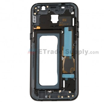 For Samsung Galaxy A5 2017 SM-A520 Rear Housing Replacement - Black - Grade S+ (0)
