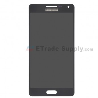 For Samsung Galaxy A5 SM-A500 LCD Screen and Digitizer Assembly Replacement - Black - With Logo - Grade S (0)