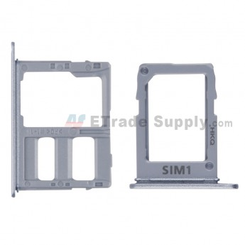 For Samsung Galaxy A6 (2018)/A6+ (2018) SIM Card Tray Replacement (2pcs/set) - Blue - Grade S+ (0)