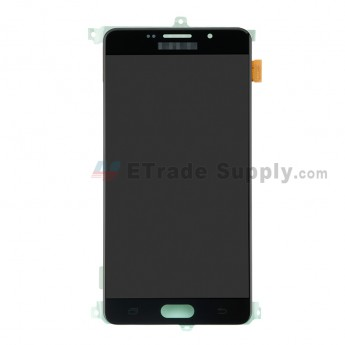 For Samsung Galaxy A7 (2016) A710 LCD Screen and Digitizer Assembly Replacement - Black - With Logo - Grade S+ (0)