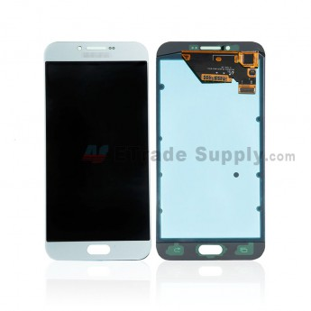 For Samsung Galaxy A8 (2016) SM-A810F LCD Screen and Digitizer Assembly Replacement - Light Blue - Grade S+ (0)