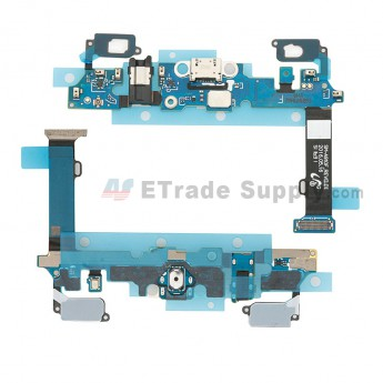 For Samsung Galaxy A9 (2016) SM-A910F Charging Port Flex Cable Replacement - Grade S+ (0)