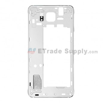 For Samsung Galaxy Alpha SM-G850A Rear Housing Replacement - Black - Grade S+ (8)