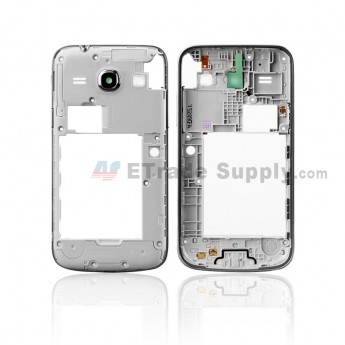 For Samsung Galaxy Core Plus G350 Rear Housing Replacement - Sliver - Grade S (0)
